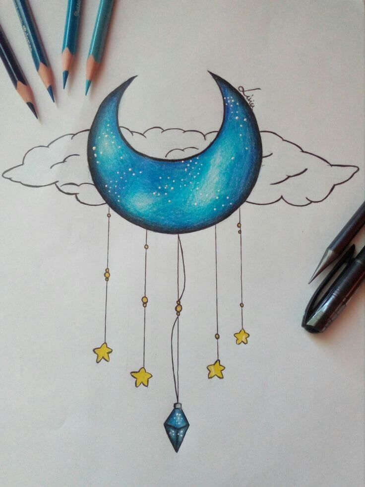 рисунки для срисовки планеты