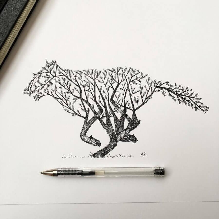 маленькие рисунки для срисовки ручкой