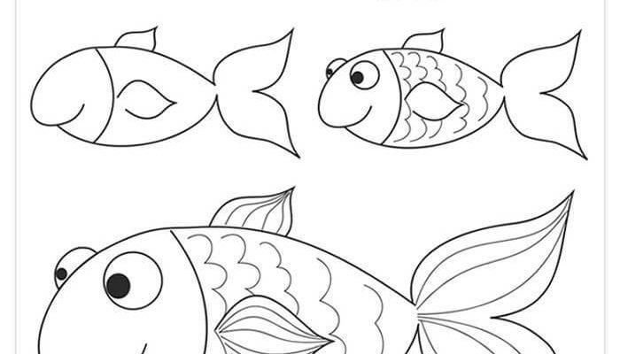 рисунки для срисовки для детей 6