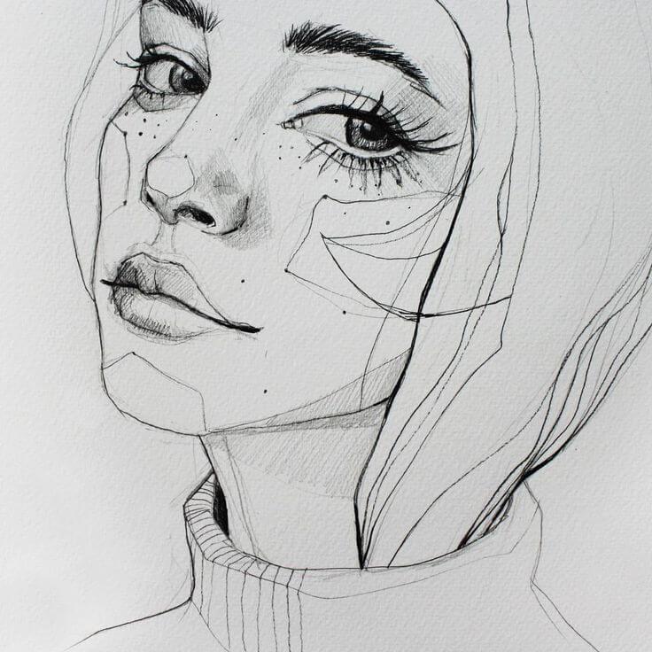 рисунки для срисовки скетч маркерами