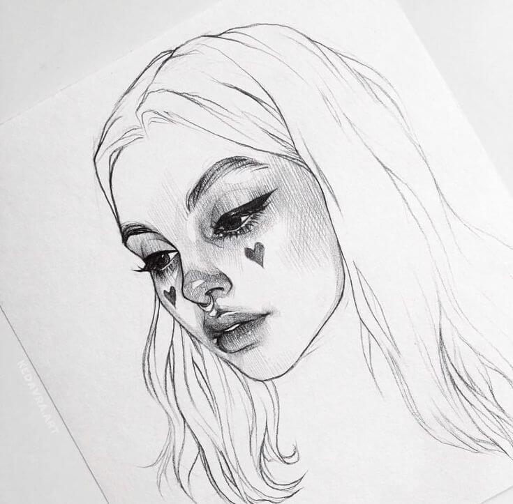 рисунки для срисовки в скетчбук дудлинг