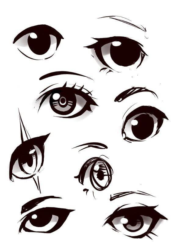 фото глаза для срисовки