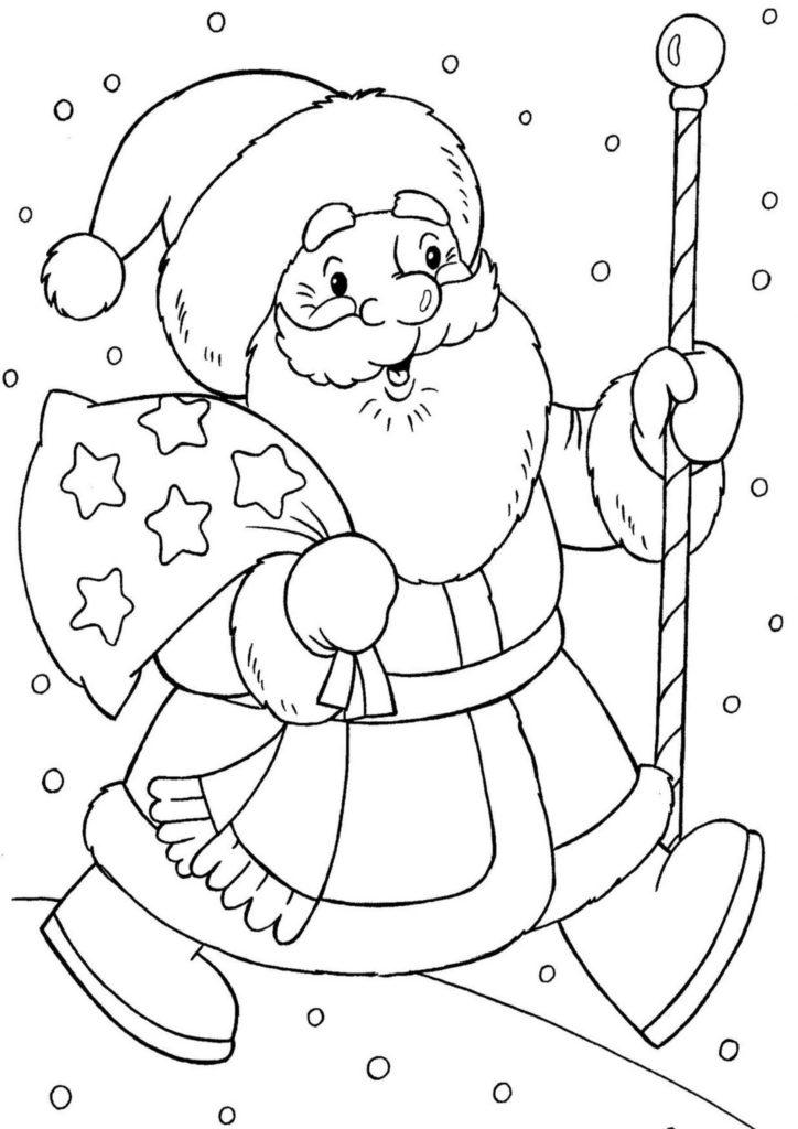 милые рисунки для срисовки легкие новогодние