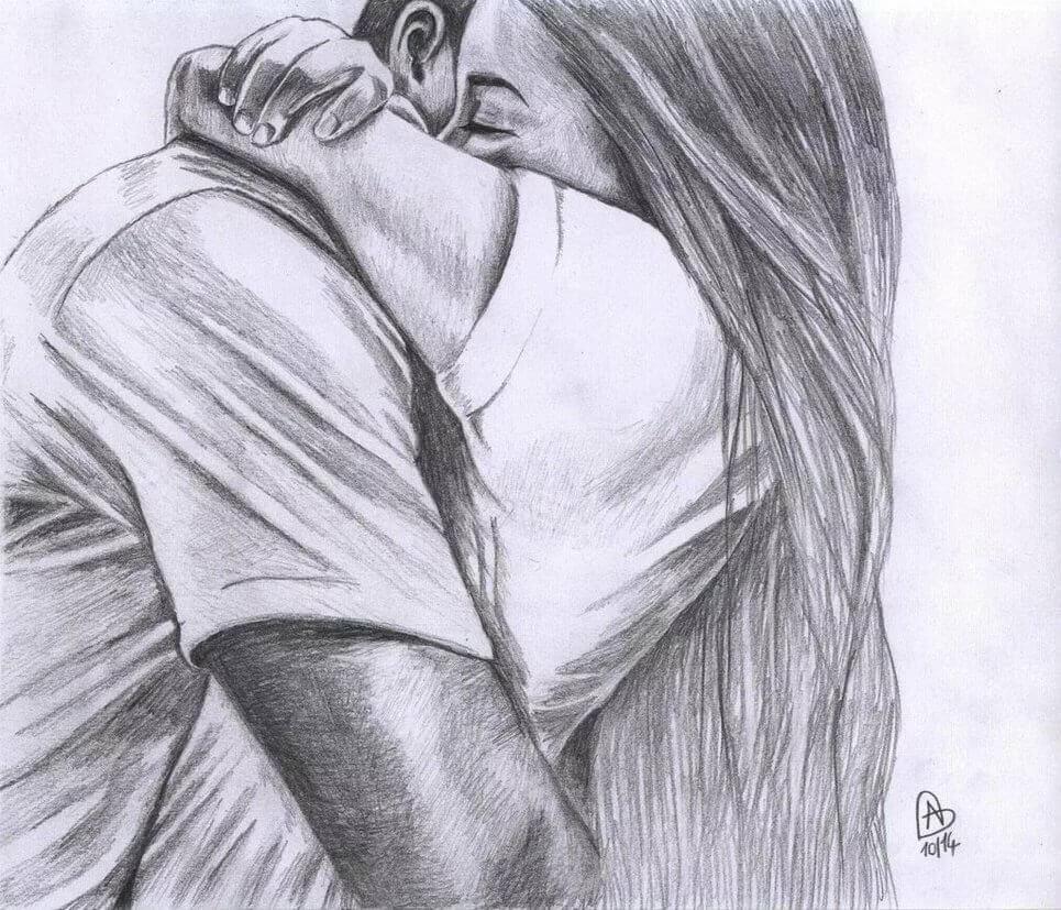 картинки про любовь для срисовки с надписями