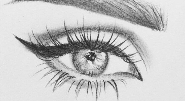 красивые глаза для срисовки