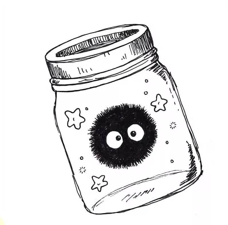 красивые рисунки черной ручкой простые для срисовки