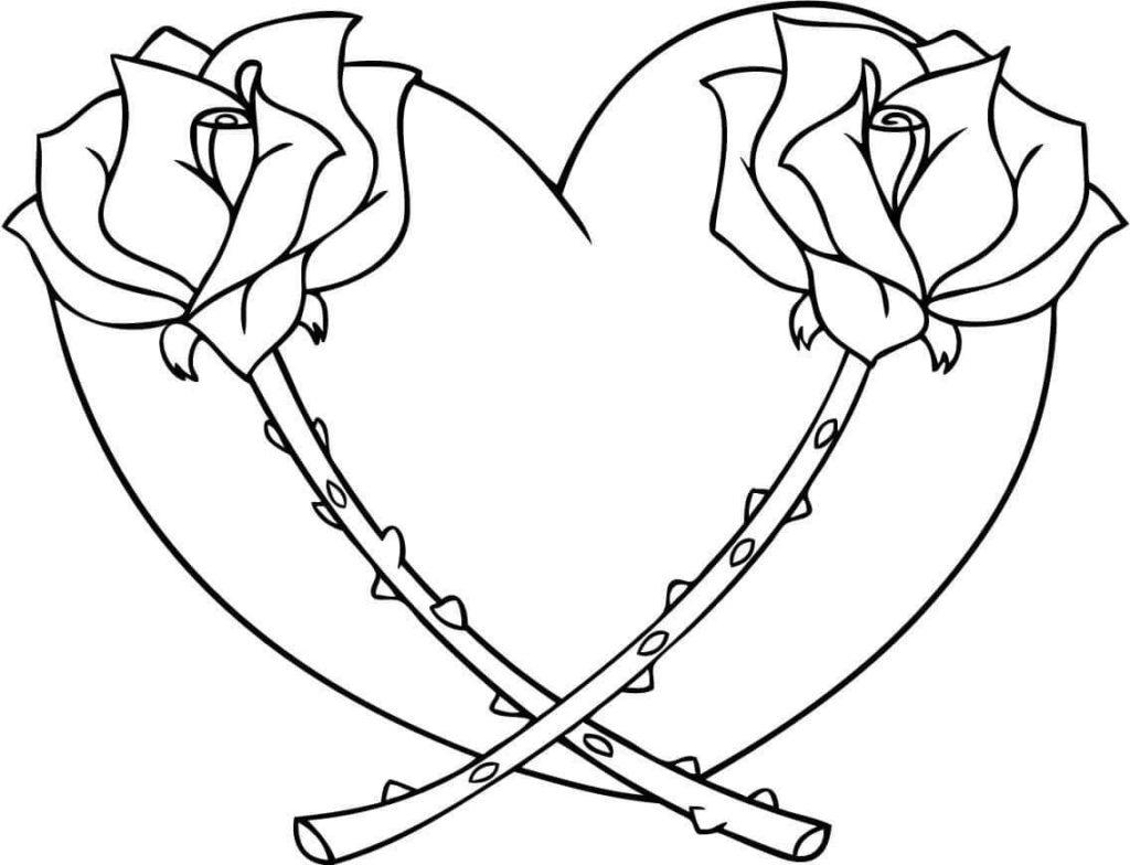 фото сердца для срисовки