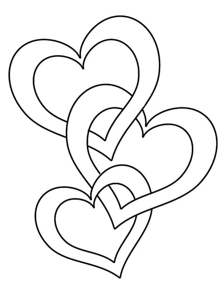 картинки сердечки красивые для срисовки