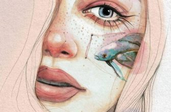эстетичные рисунки для срисовки