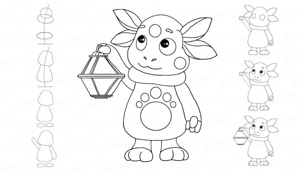 детские картинки для срисовывания