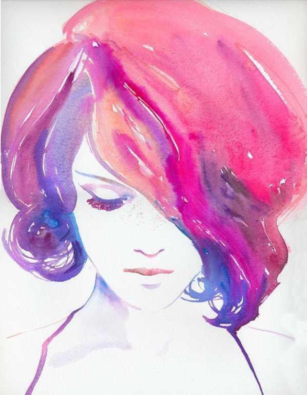 картины для срисовки красками
