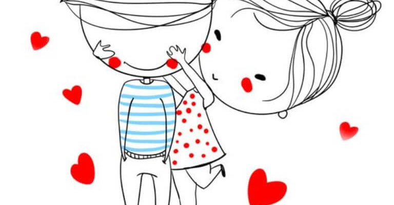 картинки для срисовки руки влюбленных