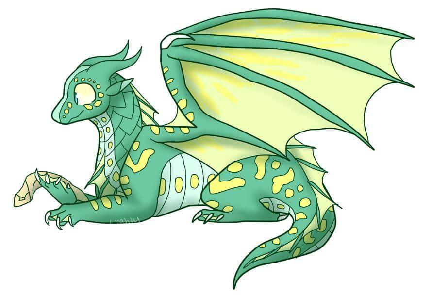 фото дракона для срисовки