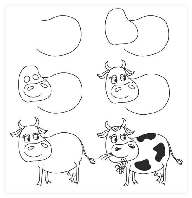 срисовки для детей