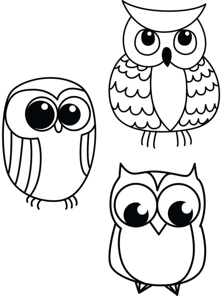 рисунки для детей легкие срисовывать