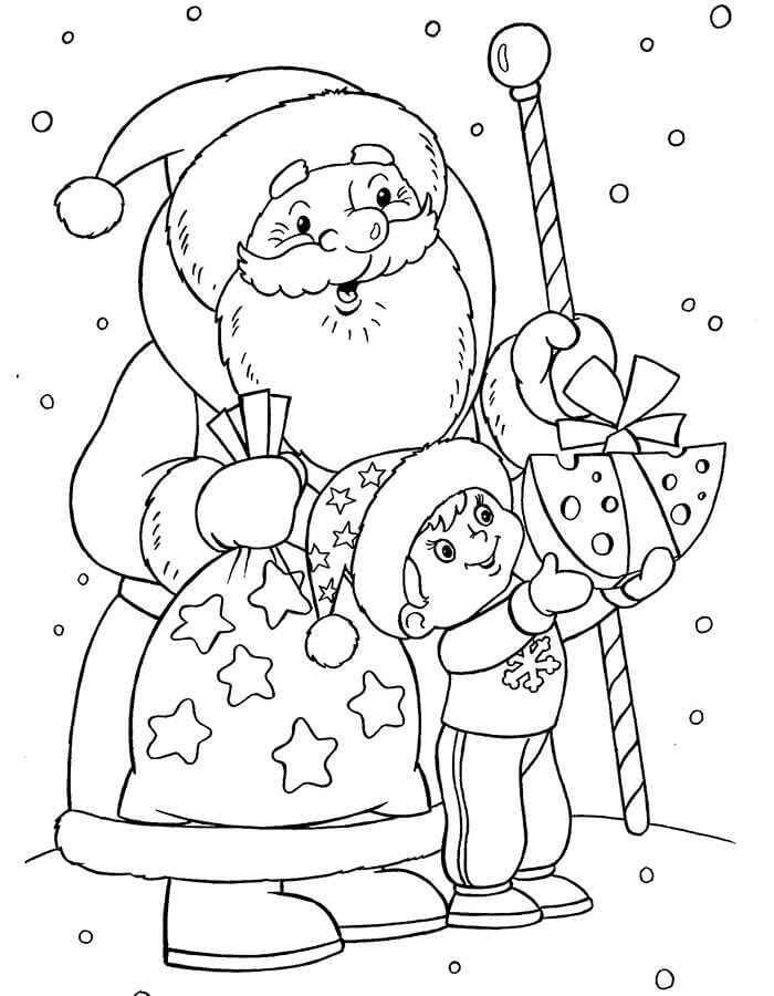 картинки для срисовки на новогоднюю тему