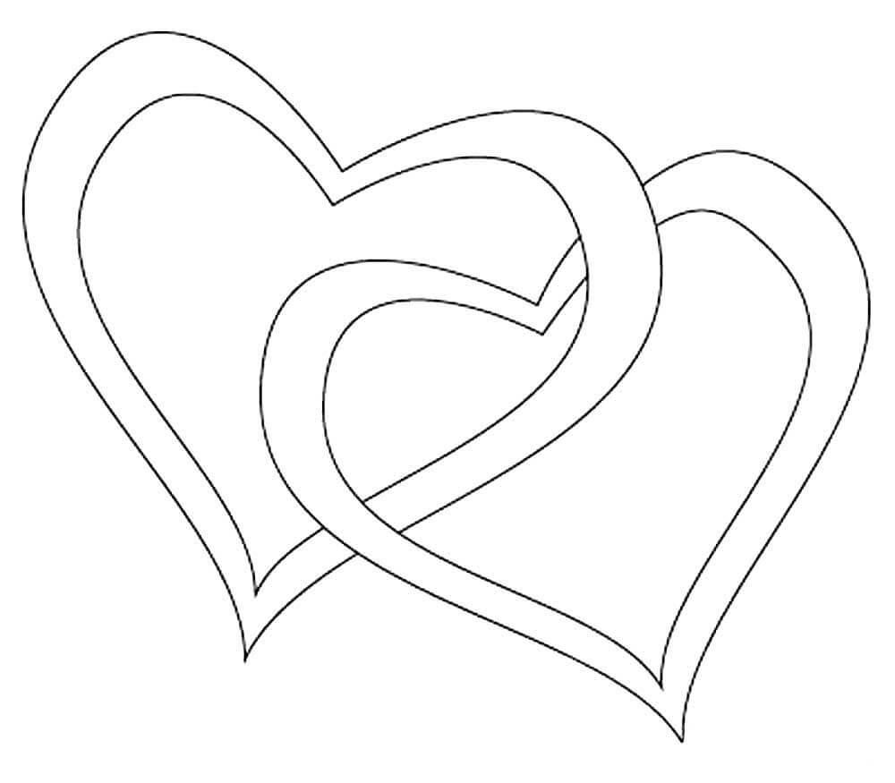картинки для срисовки сердечки