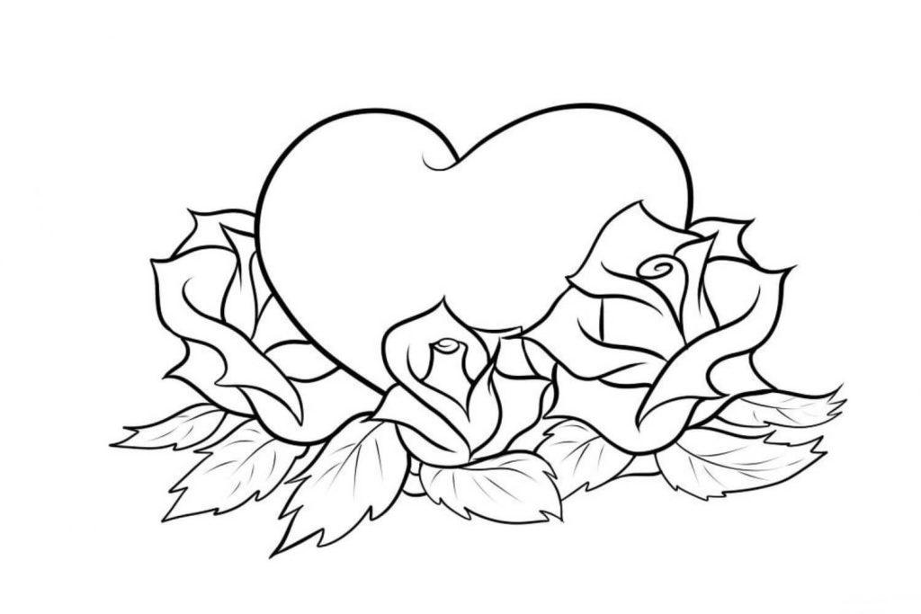 картинки для срисовки сердце