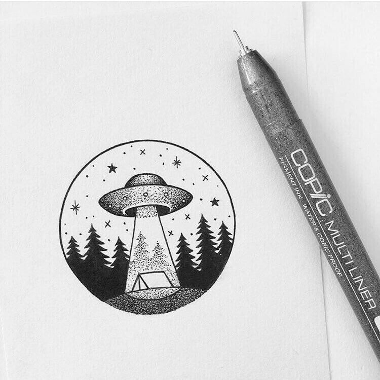 картинки для срисовки легкие и красивые ручкой