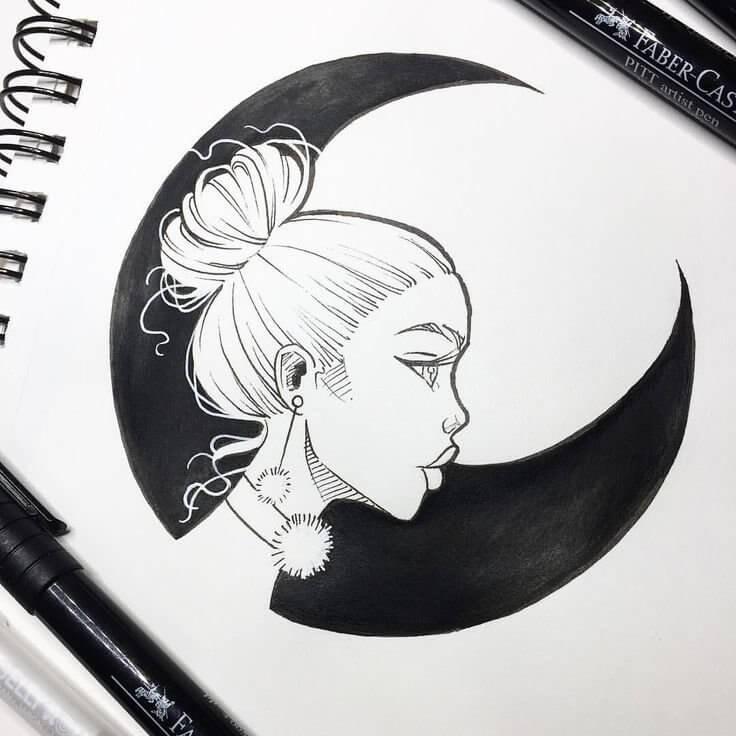 картинки для срисовки гелевой ручкой легкие
