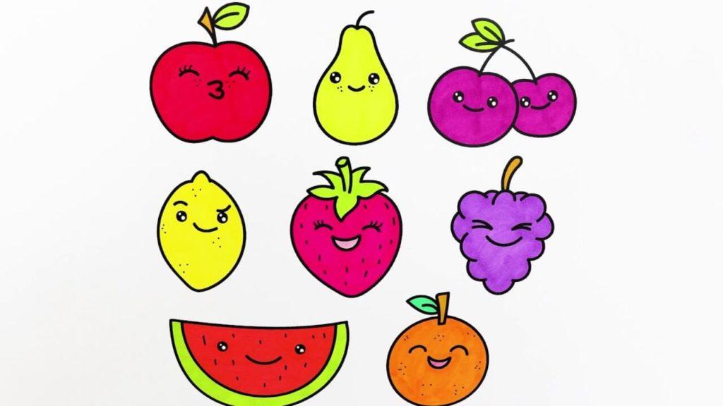 фрукты для срисовки