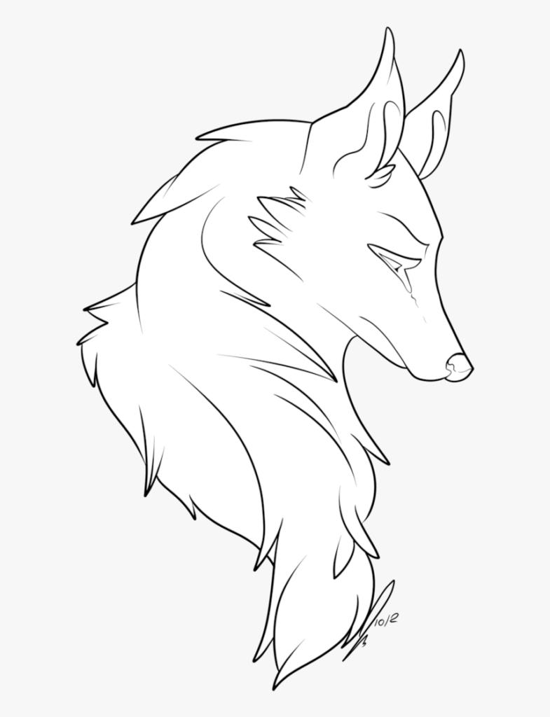 картинки волков для срисовки