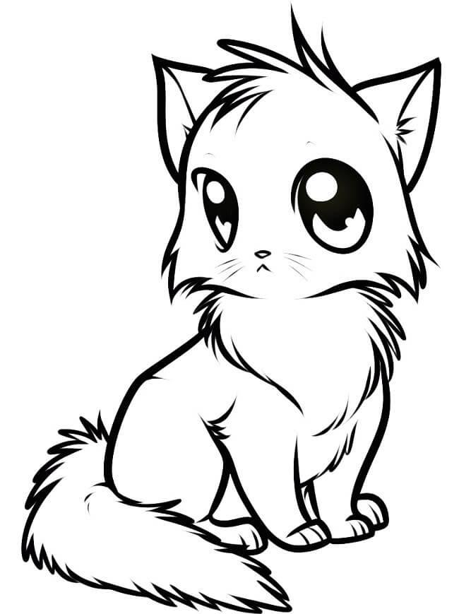 картинки котов для срисовки