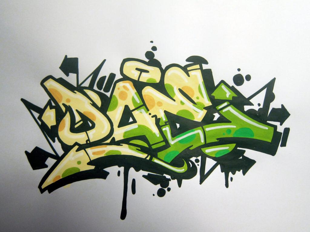 картинки для срисовки граффити