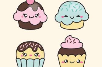 картинки для срисовки сладости