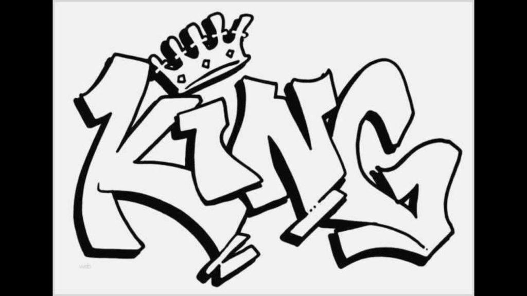 рисунки граффити для срисовки