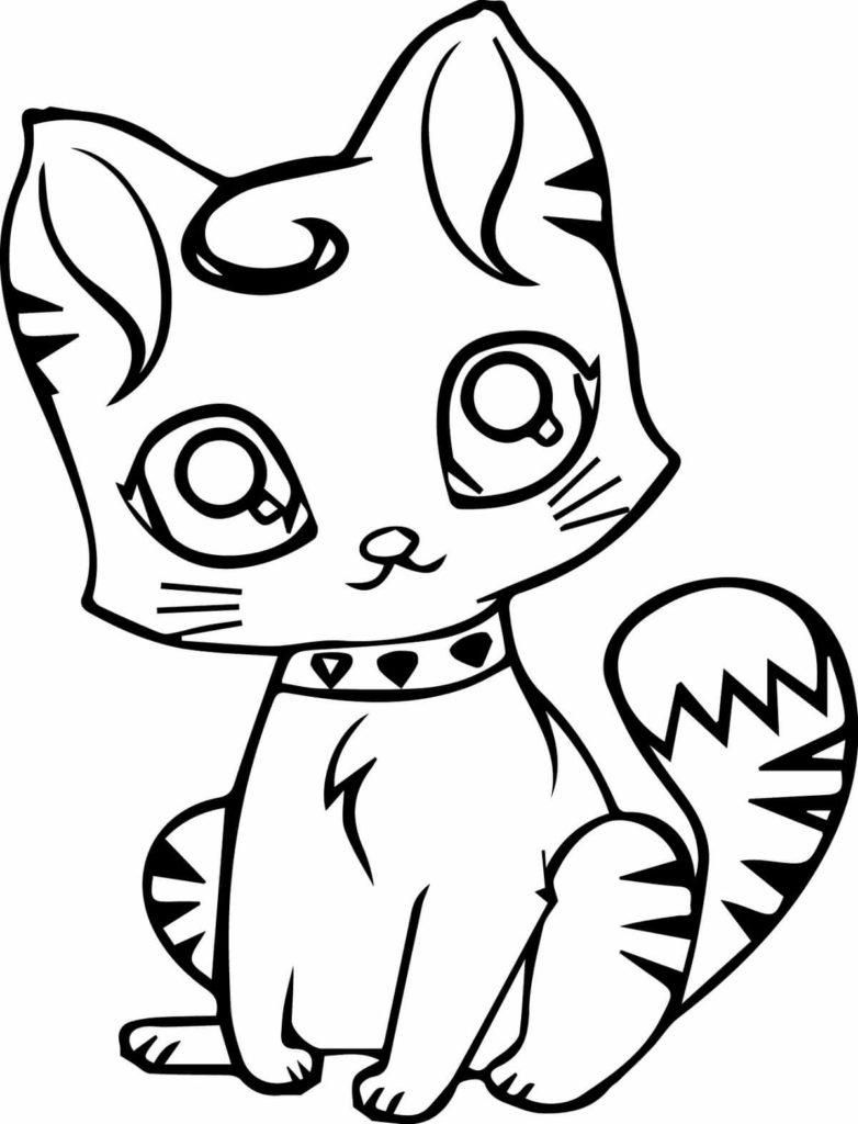коты арты для срисовки