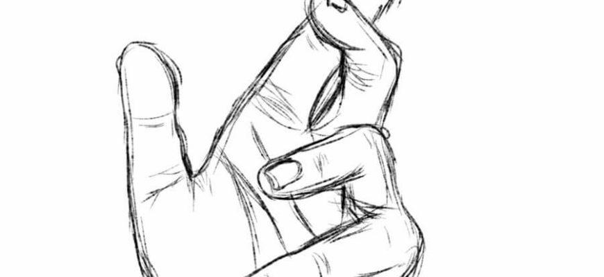 руки для срисовки