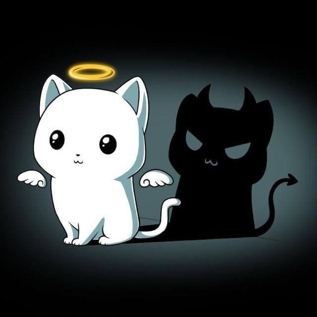 картинки для срисовки милые и няшные котята