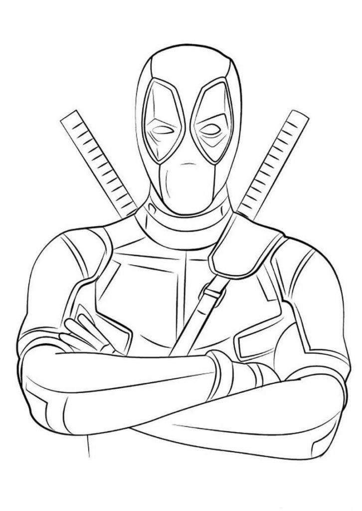 картинки супергероев для срисовки