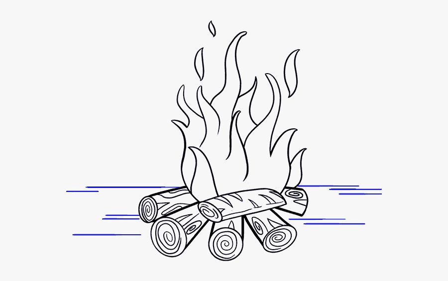 картинки огня для срисовки простые