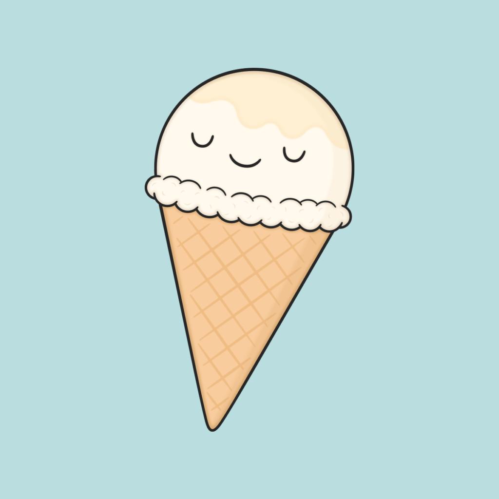 картинки для срисовки мороженое