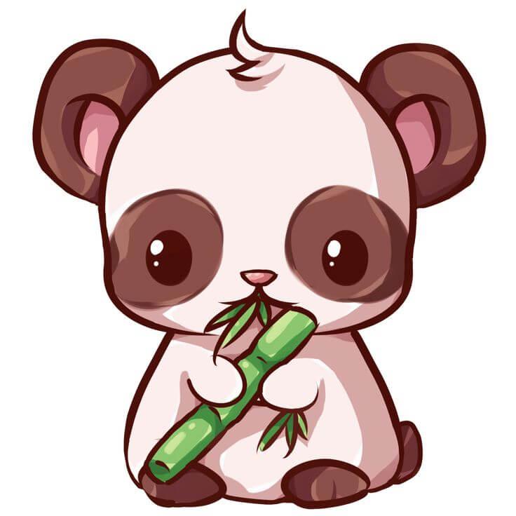 рисунки зверюшек для срисовки мишка