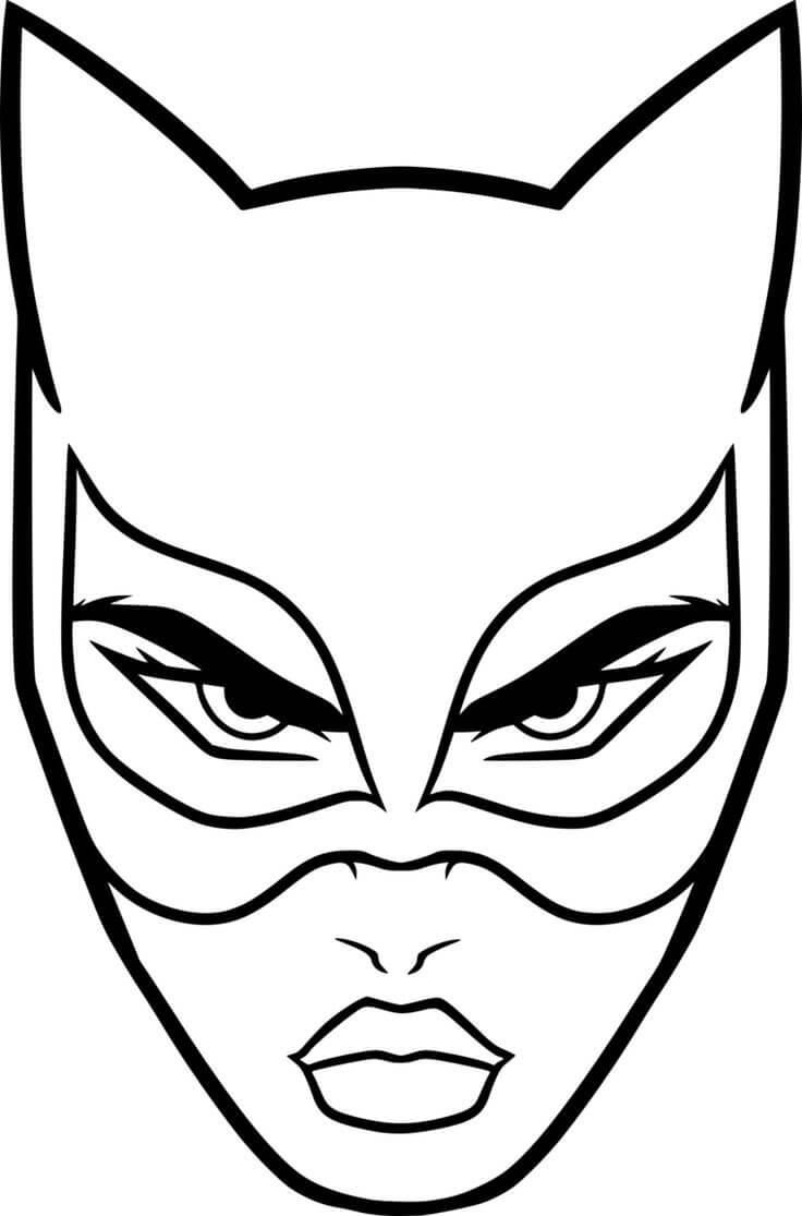 картинки для срисовки маски простые