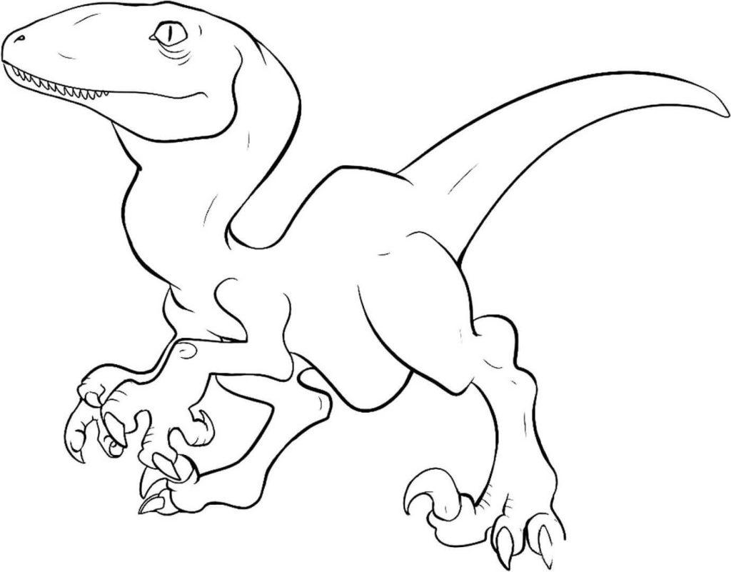 рисунки для срисовки динозавры легкие