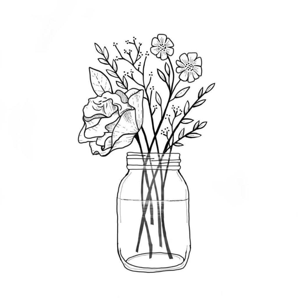 срисовка ваз