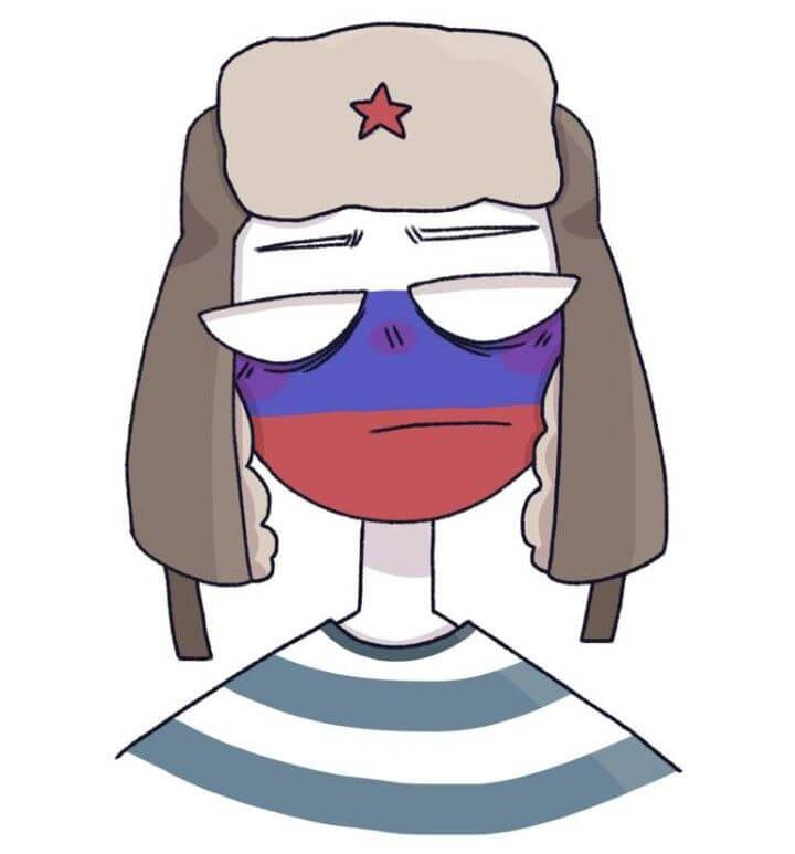 картинки для срисовки кантрихуманс россия