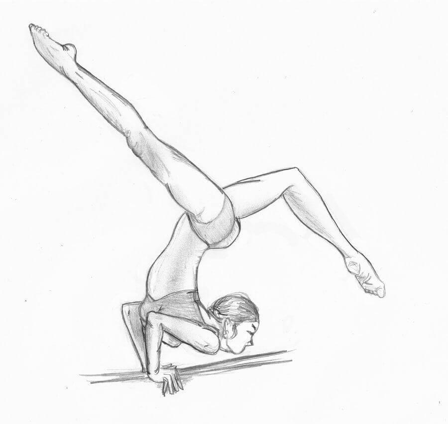 гимнастика для срисовки для начинающих
