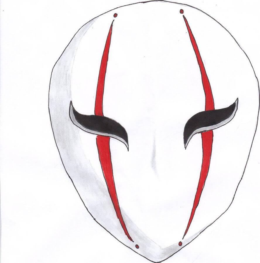 картинки для срисовки маски цветные