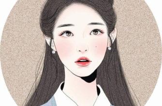 корейские картинки для срисовки девушки