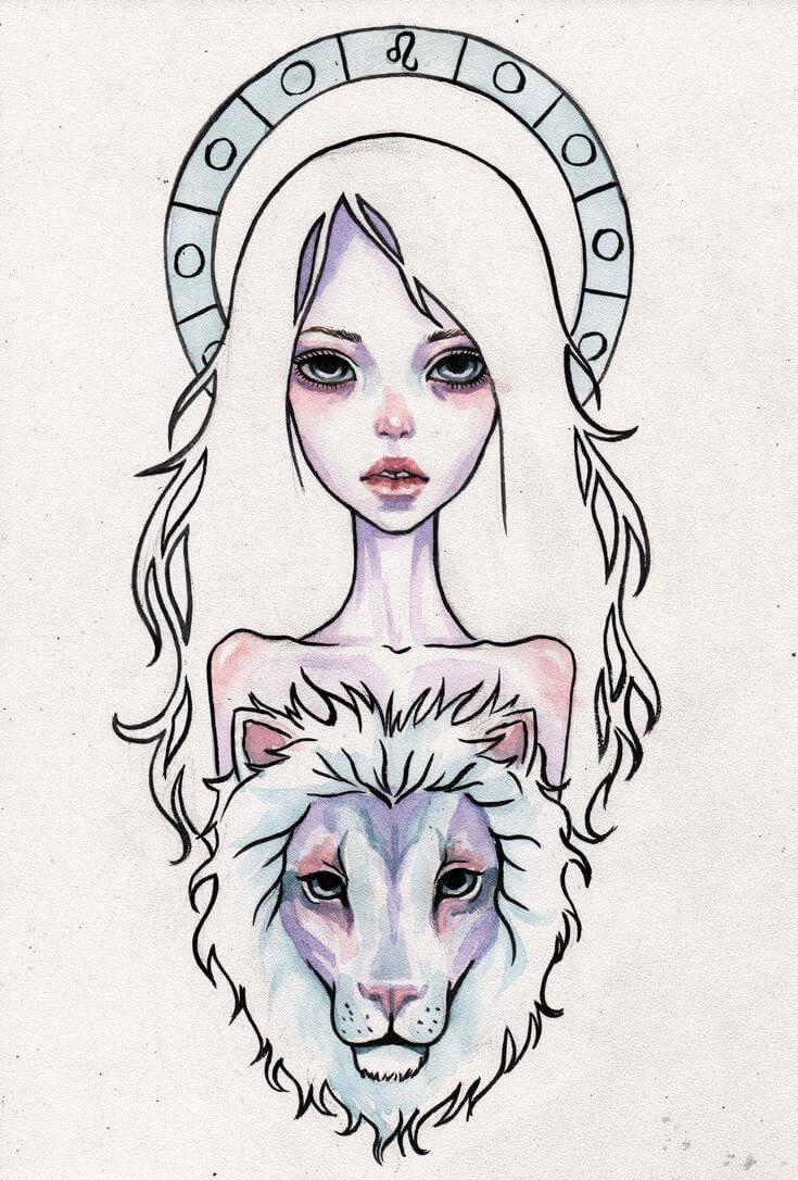 знаки зодиака в виде девушек для срисовки