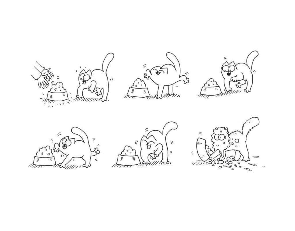 рисунки комиксов для срисовки