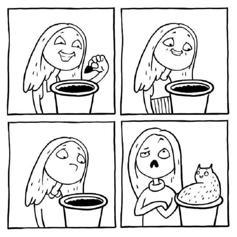 картинки комиксы для срисовки