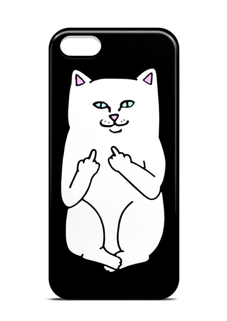 картинки для чехла на телефон срисовать кот