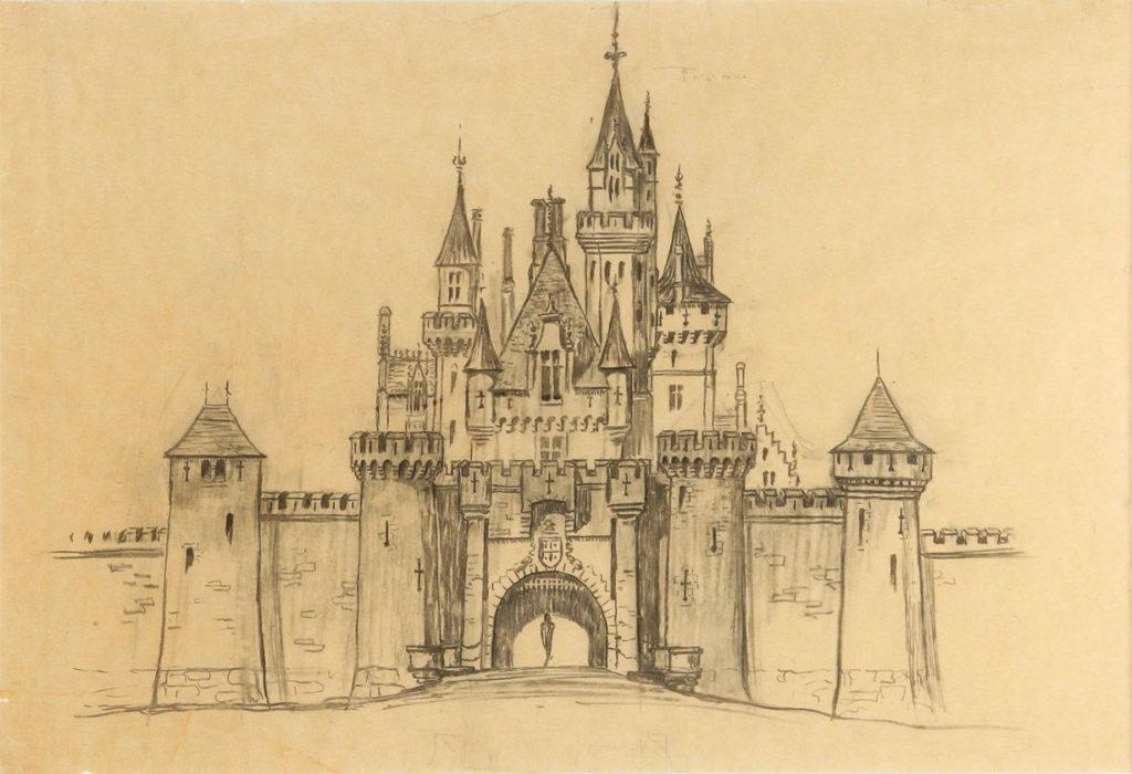 картинки замков для срисовки