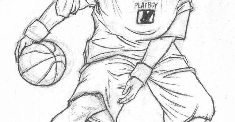 картинки для срисовки про спорт мяч